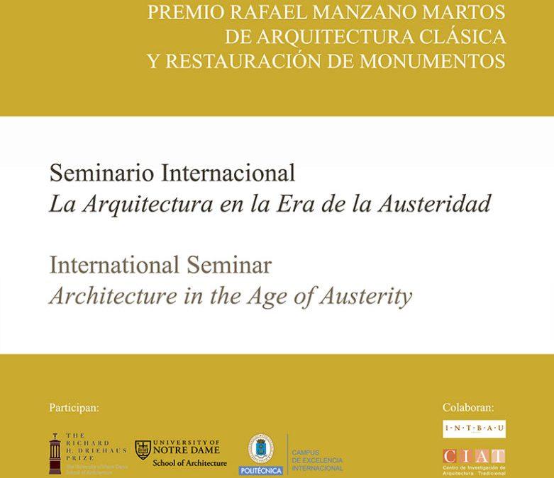 2013 A Arquitectura na Era da Austeridade