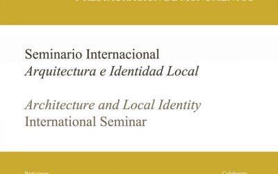 2014 Architecture and Local Identity