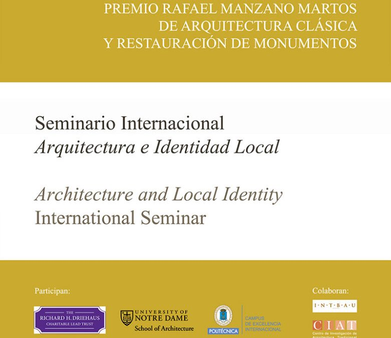 2014 Architecture and Local Identity