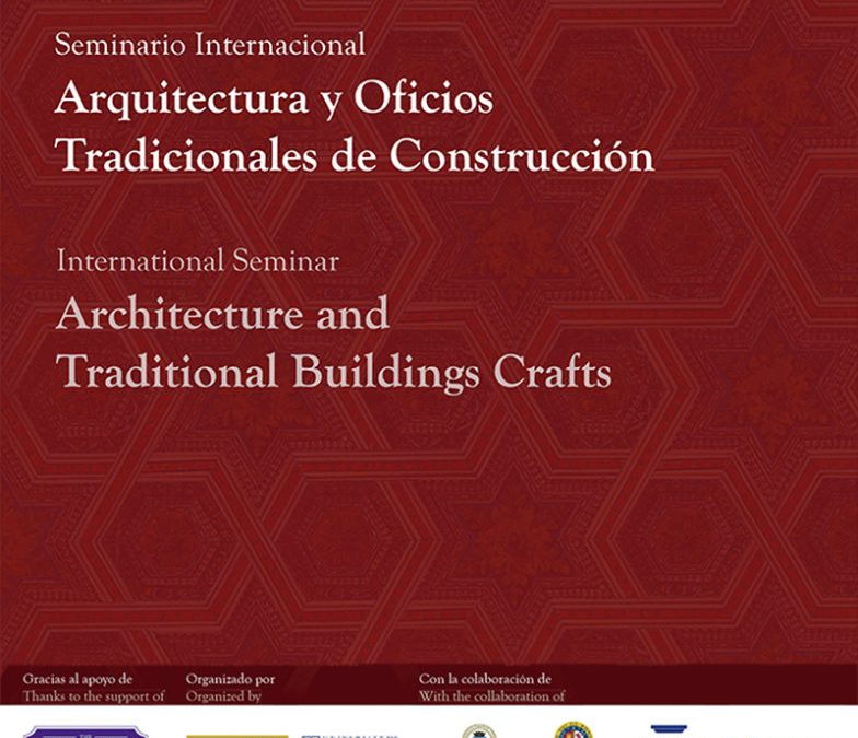 2016 Architecture and Traditional Building Crafts