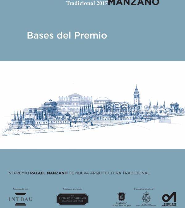 Bases de la Convocatoria del Premio Rafael Manzano 2017