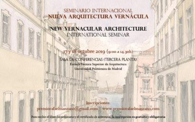 Seminario Internacional Nueva Arquitectura Vernácula