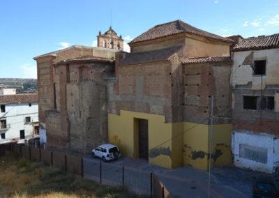 G3.9a Callejón y solar entre iglesia y seminario y solar manzana en ruinas
