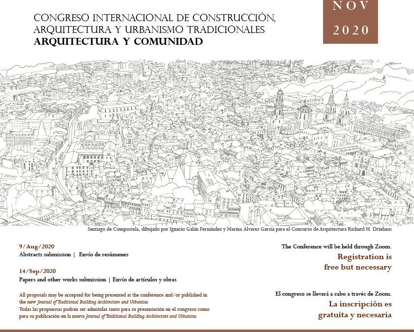 Call for abstracts for Architecture and Comunity Conference